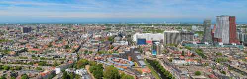Panorama of The Hague, Netherlands Royalty Free Stock Photos