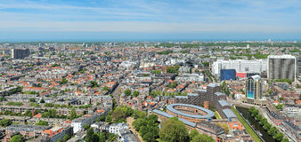 Panorama of The Hague, Netherlands Royalty Free Stock Image
