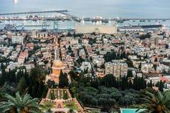 Panorama of Haifa, Israel Royalty Free Stock Images