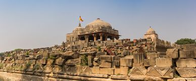 Panorama of the Harshat Mata temple in historic village Abhaneri
