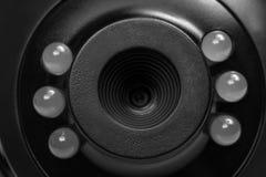Panorama haut étroit de webcam photographie stock