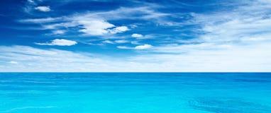 Panorama- hav Royaltyfria Foton