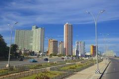 Panorama in Havana, Cuba, Caribbean Royalty Free Stock Images