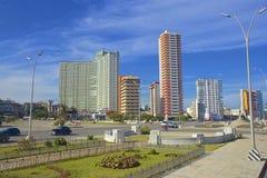 Panorama in Havana, Cuba, Caribbean. Malecon and panorama of Havana, Cuba Stock Image