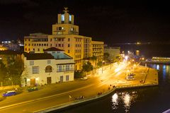 Panorama in Havana, Cuba, Caribbean Stock Photography
