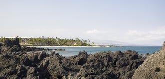 Panorama hawaiano del ricorso Fotografia Stock Libera da Diritti