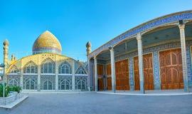 Panorama Hazayer meczet w Yazd Obraz Royalty Free