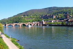 Panorama Heidelberg Stock Photography