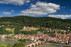 Panorama of Heidelberg Stock Images