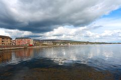 Panorama of Helensburgh, Scotland Royalty Free Stock Images