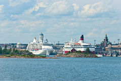 Panorama of Helsinki. Royalty Free Stock Photography