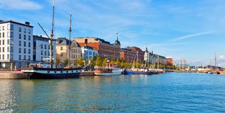 Panorama of Helsinki, Finland Royalty Free Stock Photos