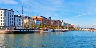 Panorama of Helsinki, Finland Royalty Free Stock Photos