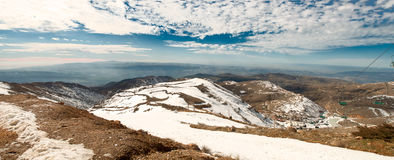 Panorama of Hermon . Stock Image