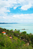 Panorama hermoso de Tihany Fotos de archivo libres de regalías
