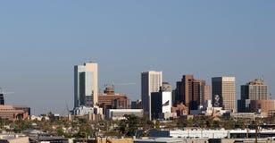 Panorama het Van de binnenstad van Phoenix Royalty-vrije Stock Foto