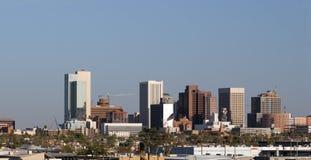 Panorama het Van de binnenstad van Phoenix, AZ Royalty-vrije Stock Afbeeldingen