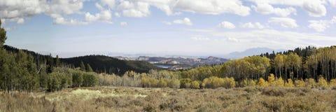 Panorama in het zuidoosten van UTAH Stock Foto
