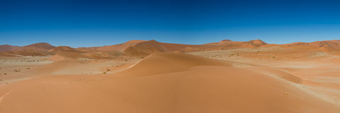 Panorama of the Hidden Vlei Royalty Free Stock Photos