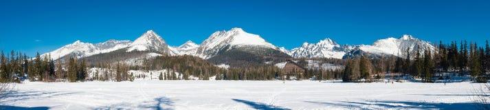 Panorama of High Tatras mountains, Slovakia Stock Images