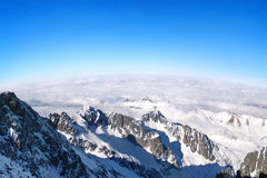 Panorama of the High Tatras, Slovakia Royalty Free Stock Photo