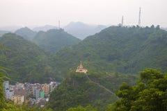 Panorama of hills Stock Photo