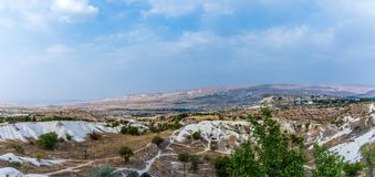 Panorama of hills royalty free stock photo