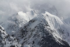 Panorama of the Hils, Les Deux Alpes, France, French Stock Photos