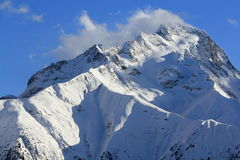 Panorama of the Hils, Les Deux Alpes, France, French Royalty Free Stock Images