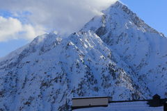 Panorama of the Hils, Les Deux Alpes, France, French Royalty Free Stock Photos