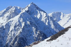 Panorama of the Hils, Les Deux Alpes, France, French Stock Photography