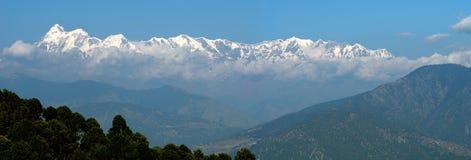 Panorama Himalayan Fotos de Stock