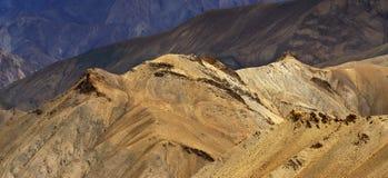 Panorama of Himalayan Mountains , ladakh landscape Leh, Jammu Kashmir, India. Royalty Free Stock Photo