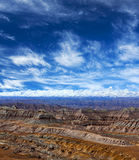 Panorama of Himalayas, Tibet Stock Photo