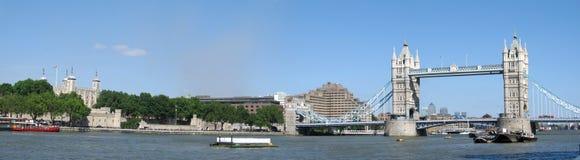 Panorama histórico de Londres Foto de Stock Royalty Free
