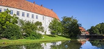 Panorama of the historical castle in Steinfurt. Germany Stock Photo