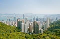Panorama of hong kong Stock Photography