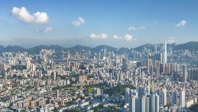 Panorama of Hong Kong City Royalty Free Stock Images