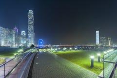 Panorama of Hong Kong city Stock Photography