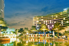 Panorama of the hotel Royalty Free Stock Photography
