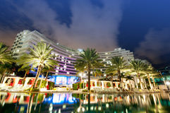 Panorama of the hotel Royalty Free Stock Photo