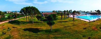 Panorama hotel Zdjęcie Royalty Free