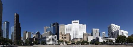 Panorama a Houston del centro Fotografia Stock Libera da Diritti