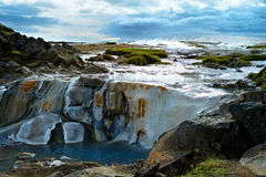 Panorama of Hveravellir. Iceland Stock Photography