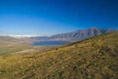 Panorama i Capilla del Monte Royaltyfri Bild