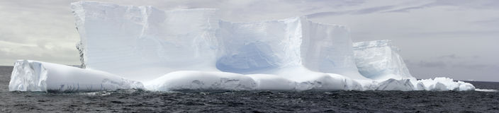 Panorama Iceberg in Antarctica Royalty Free Stock Images
