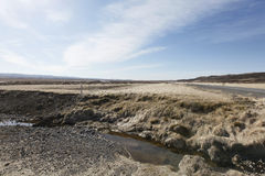 Panorama. Iceland's lands in the summer Stock Photos