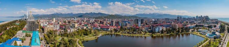 Panorama II di Batumi Immagine Stock