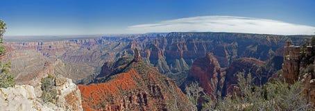 Panorama impérial de point de Grand Canyon Images libres de droits