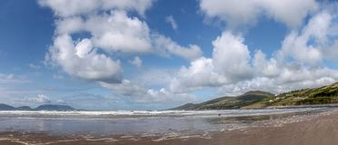 Panorama at Inch beach Royalty Free Stock Images